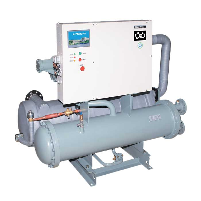 环保冷媒冷水机组:螺杆式水冷冷水机组